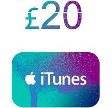 ITUNES GIFT CARD 20 GBP UK + BONUS