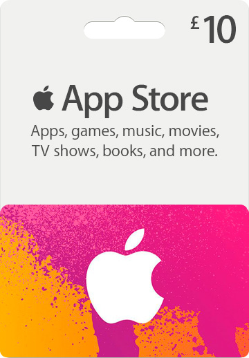 ITUNES GIFT CARD 10 GBP UK + BONUS
