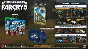 Far Cry 5. Deluxe Edition  UPLAY KEY RU/CIS
