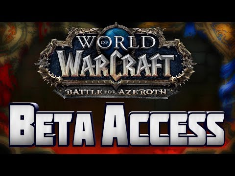 World of Warcraft Battle for Azeroth BETA KEY REG FREE