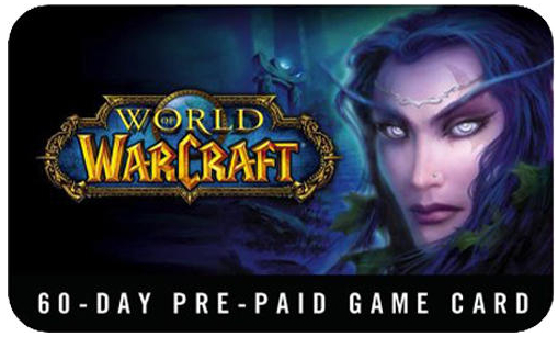 WOW timecard 60 days World of Warcraft(Russian Version)