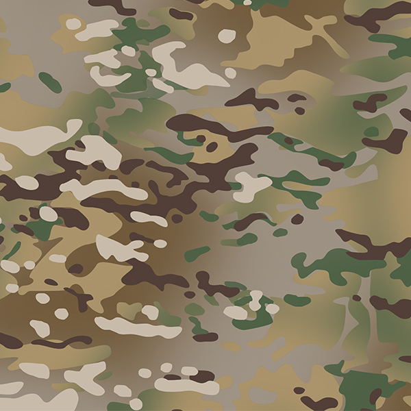 Set stencils for camouflage MultiCam