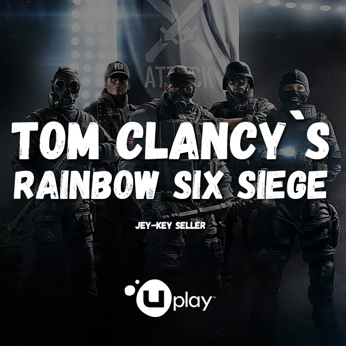 RAINBOW SIX SIEGE [WARRANTY] &#128308