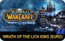 World of Warcraft Wrath of the Lich King EURO cd-key