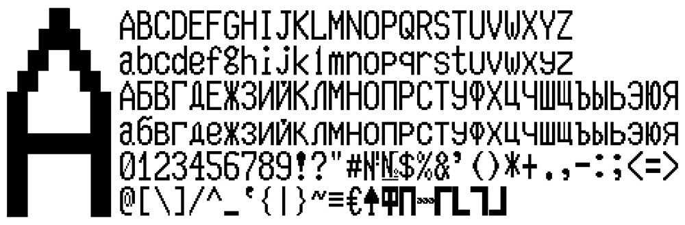 Buy Full set of 4 fonts KKM MERCURY-114 1-TORNADO(ttf) and