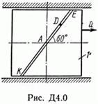 Контрольная работа Д4 В03 (рис 0 усл 3) термех Тарг 89г
