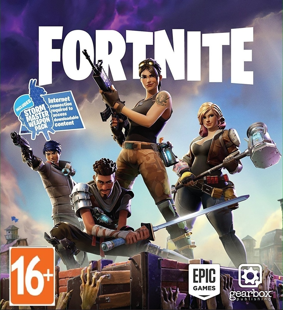 Fortnite Save the world Standart edition (Global)+ gift