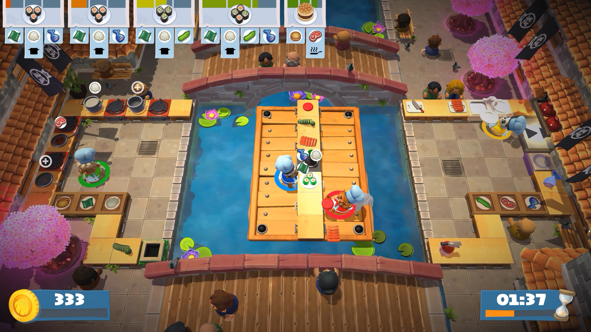 Overcooked! 2. STEAM-ключ (Россия + СНГ)