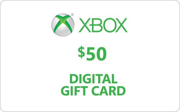 50$ XBOX LIVE CARD (USA) - DISCOUNTS
