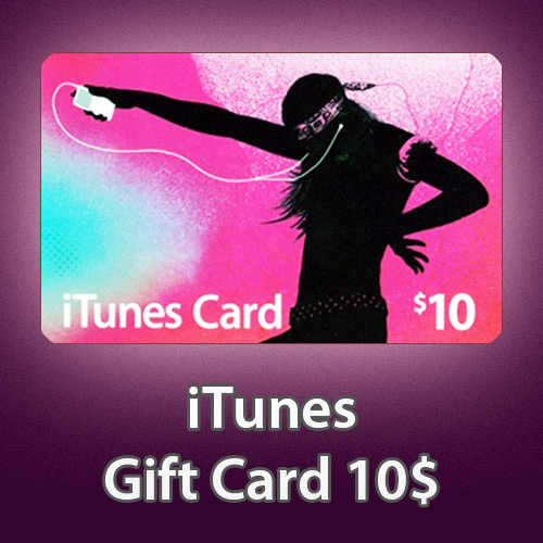 iTUNES GIFT CARD - $10 - (USA/SCAN) СКИДКИ