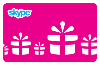 The original Skype voucher USD 10