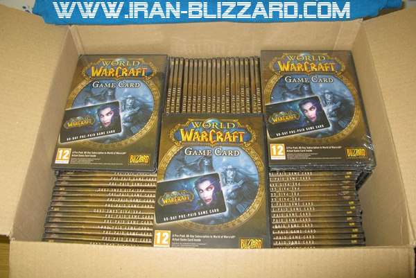 World of Warcraft 30 days Time Card Prepaid EU &#65517