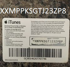 Buy iTunes Gift Card $5 USA = Photo of the back side!SALE ...