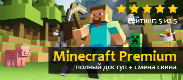 VIP Minecraft PREMIUM GOLD Change Mail{ full set }