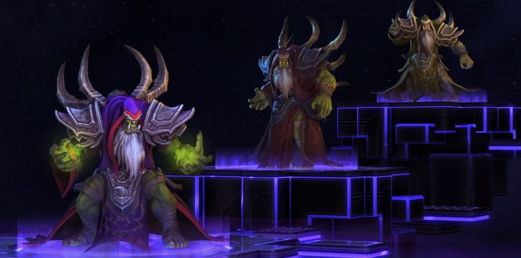 Heros of the Storm (HOTS) | Hero Guldan | Region Free