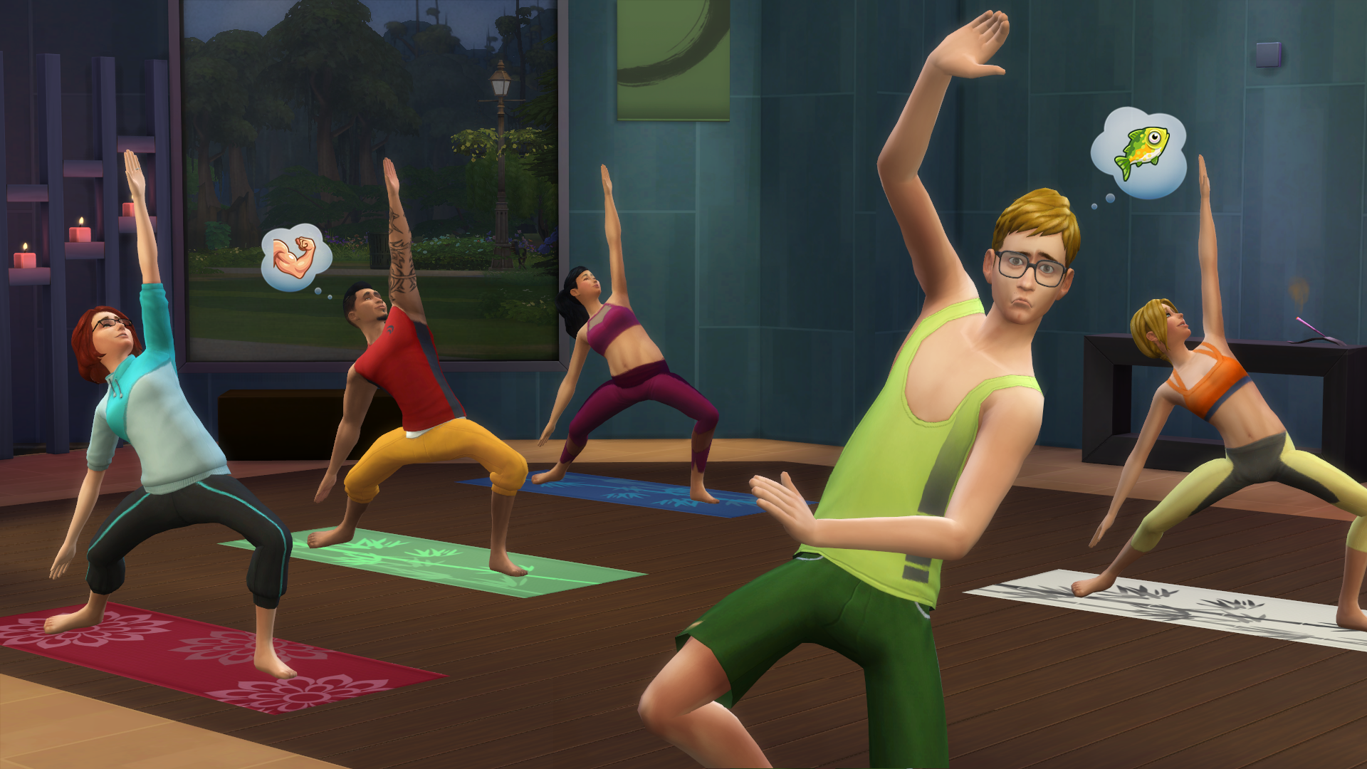 The Sims 4 День cпа