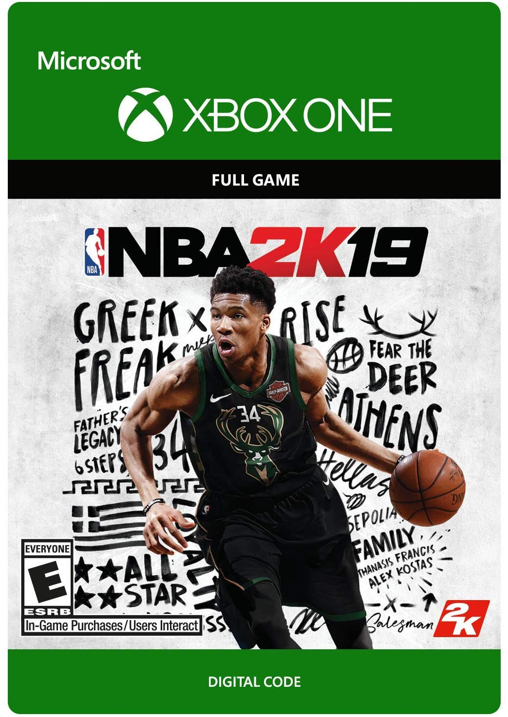 NBA 2K19 [ XBOX ONE/KEY ] REGION FREE