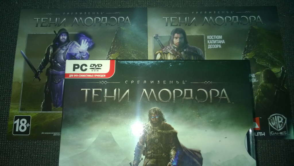 MIDDLE-EARTH: SHADOW OF MORDOR - ФОТО - CDKEY + 2 DLC