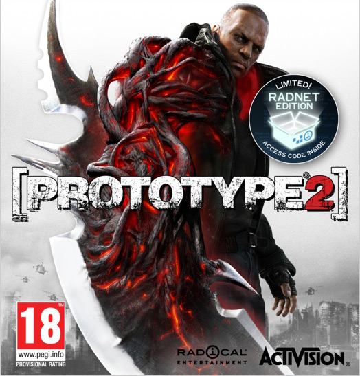 PROTOTYPE 2 RADNET EDITION - STEAM CD-KEY - НОВЫЙ ДИСК