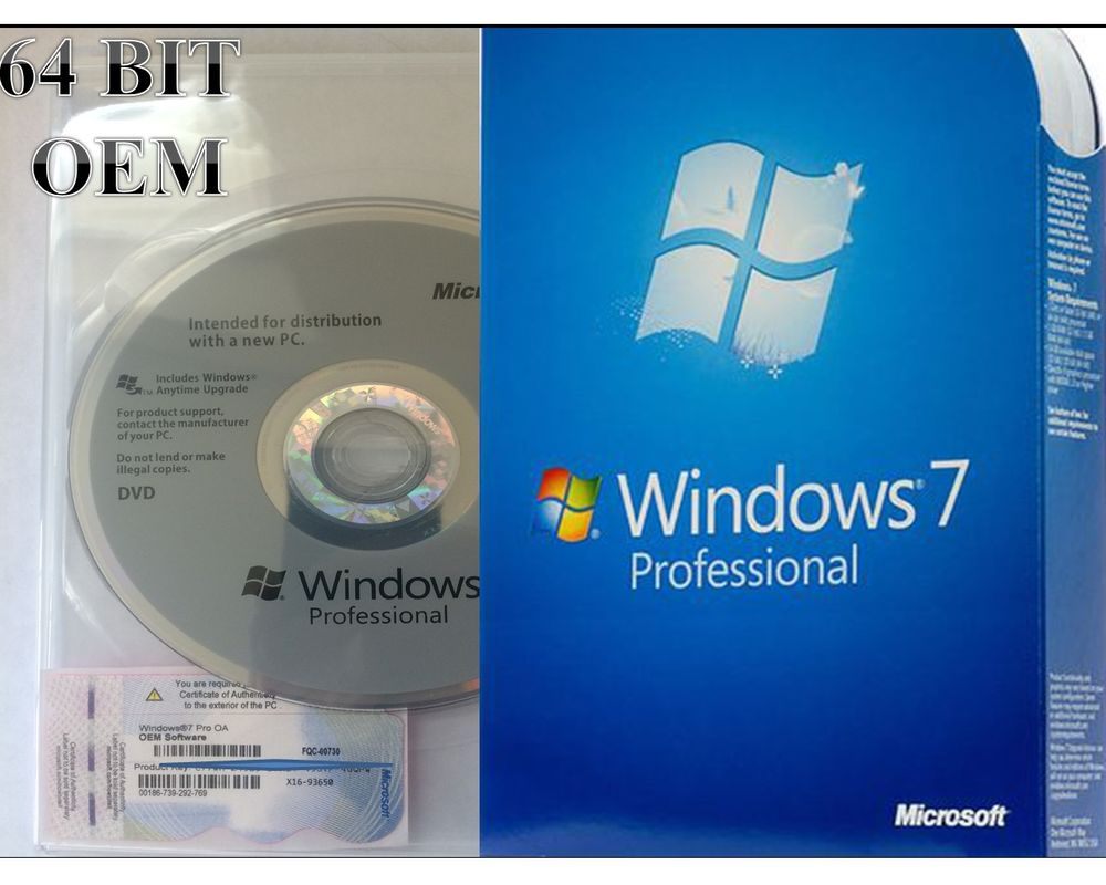 Windows 7 Professional SP1 (х64/х32) + Gift for choice