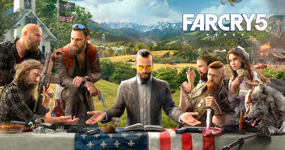 Far Cry 5 [LIFETIME WARRANTY][Region Free]PromoCODE 10%