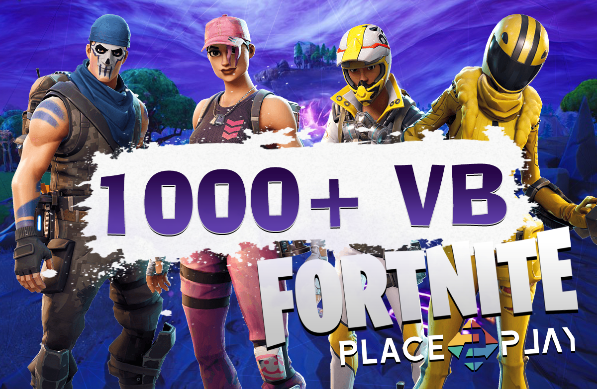 FORTNITE 1 000+ V-BUCKS Account | + WARRANTY