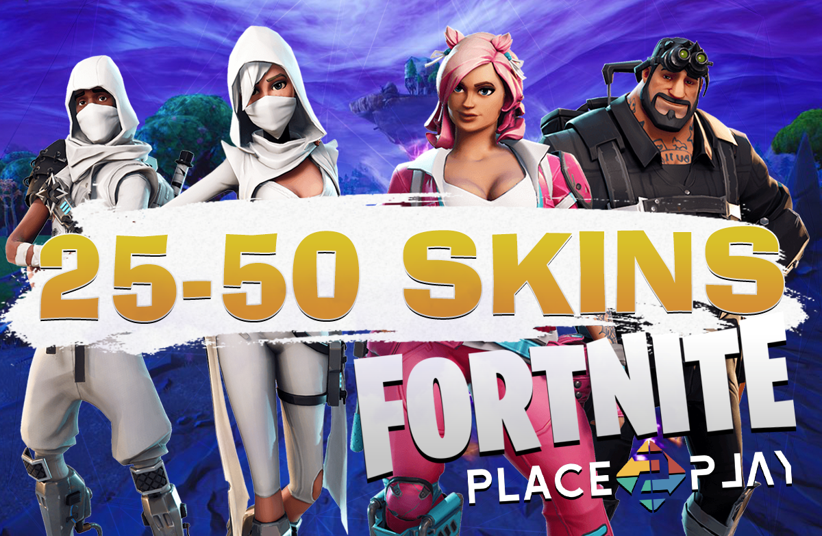 FORTNITE | 25-50 PVP SKINS | CASHBACK 10% | WARRANTY