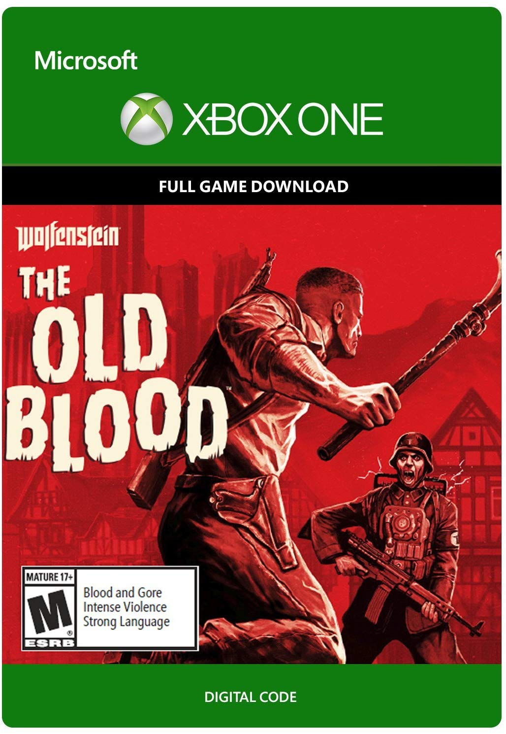 КОД - TR | Wolfenstein: The Old Blood   | XBOX ONE