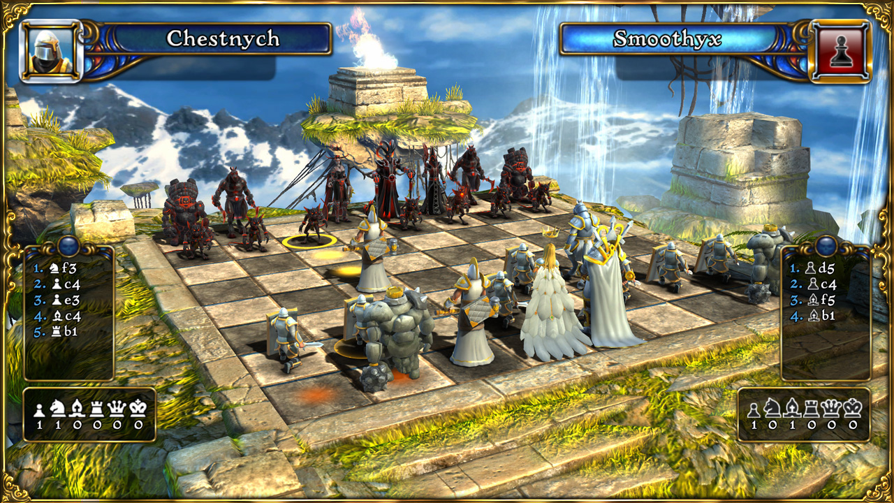 Скачать бесплатно battle vs chess (шахматы игра 3d), ключ.