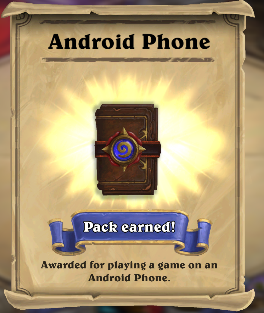 7 Hearthstone Expert Pack (35 cards) + Galaxy s &#9989