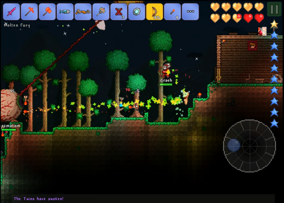 Terraria (AppStore for iPhone/iPad,IOS,Apple,iTunes)