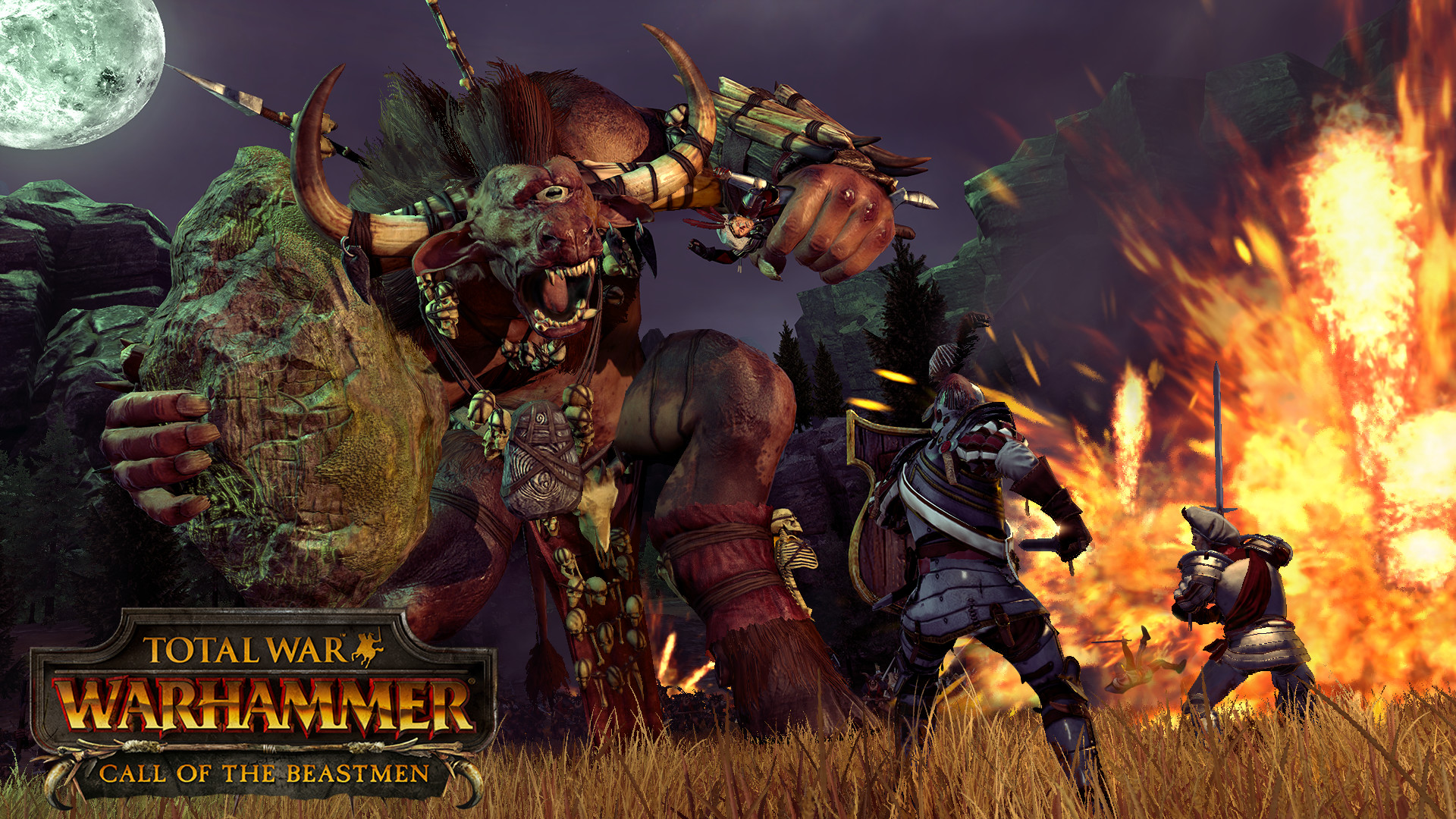 Total War: Warhammer Call of the Beastmen DLC (Steam)