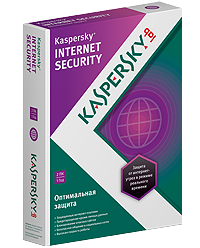 Kaspersky Internet Security (2017) 2 pcs for 1 year + D