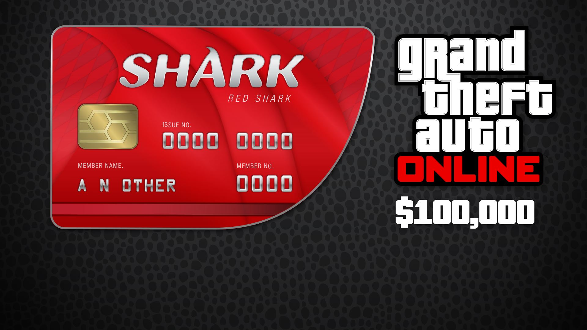 Grand Theft Auto Online: Red Shark Cash Card 100 000$