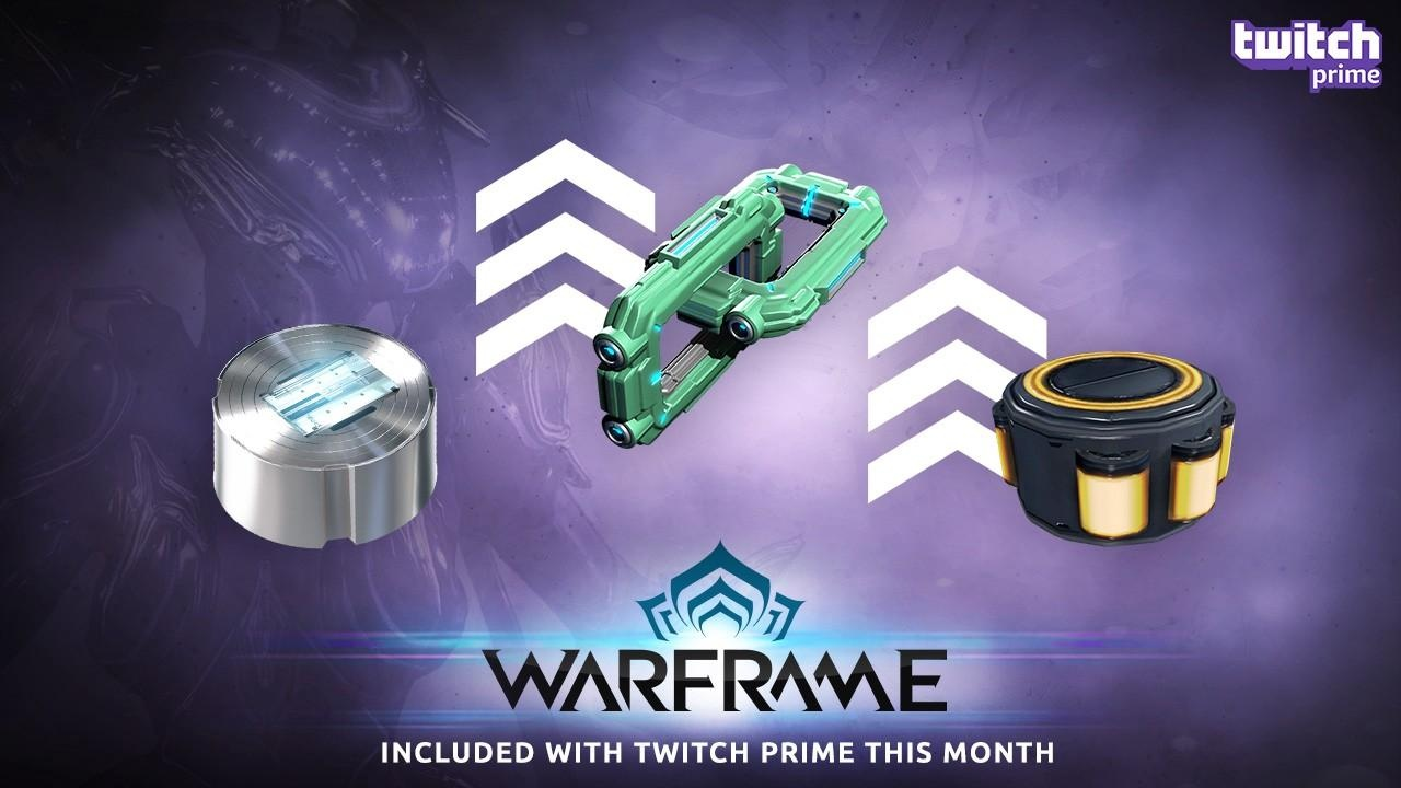 Twitch Prime Pack Warframe + Overwatch + PUBG