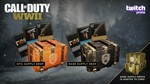 Call of Duty: WWII Twitch SUPPLY DROP x2 + WEAPON CAMO