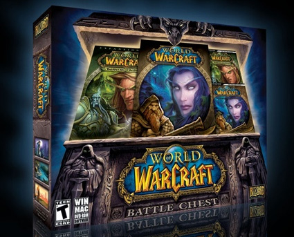 (USA version) WOW BATTLECHEST 30 days + Draenor