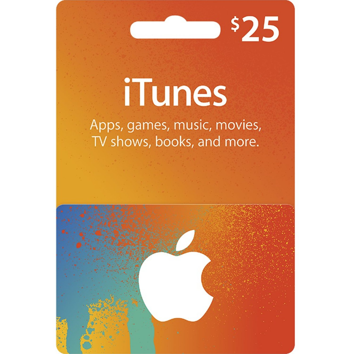 ITUNES GIFT CARD $25 USA No Time Limit - DISCOUNT