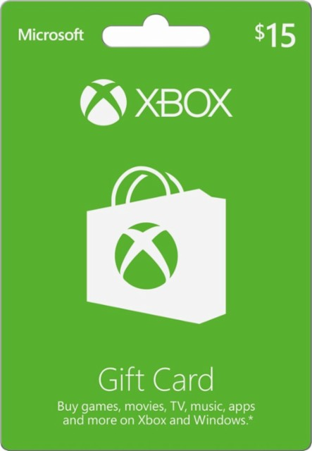 Xbox Microsoft 15$ Gift Card (USA) - Opening Discount