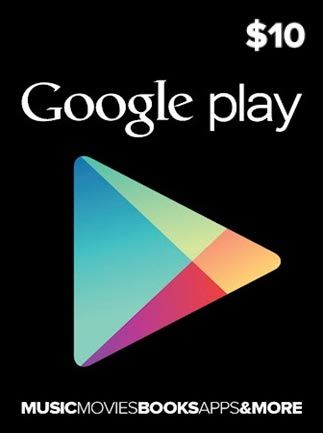 Google Play Gift Card 10$ 10 USD