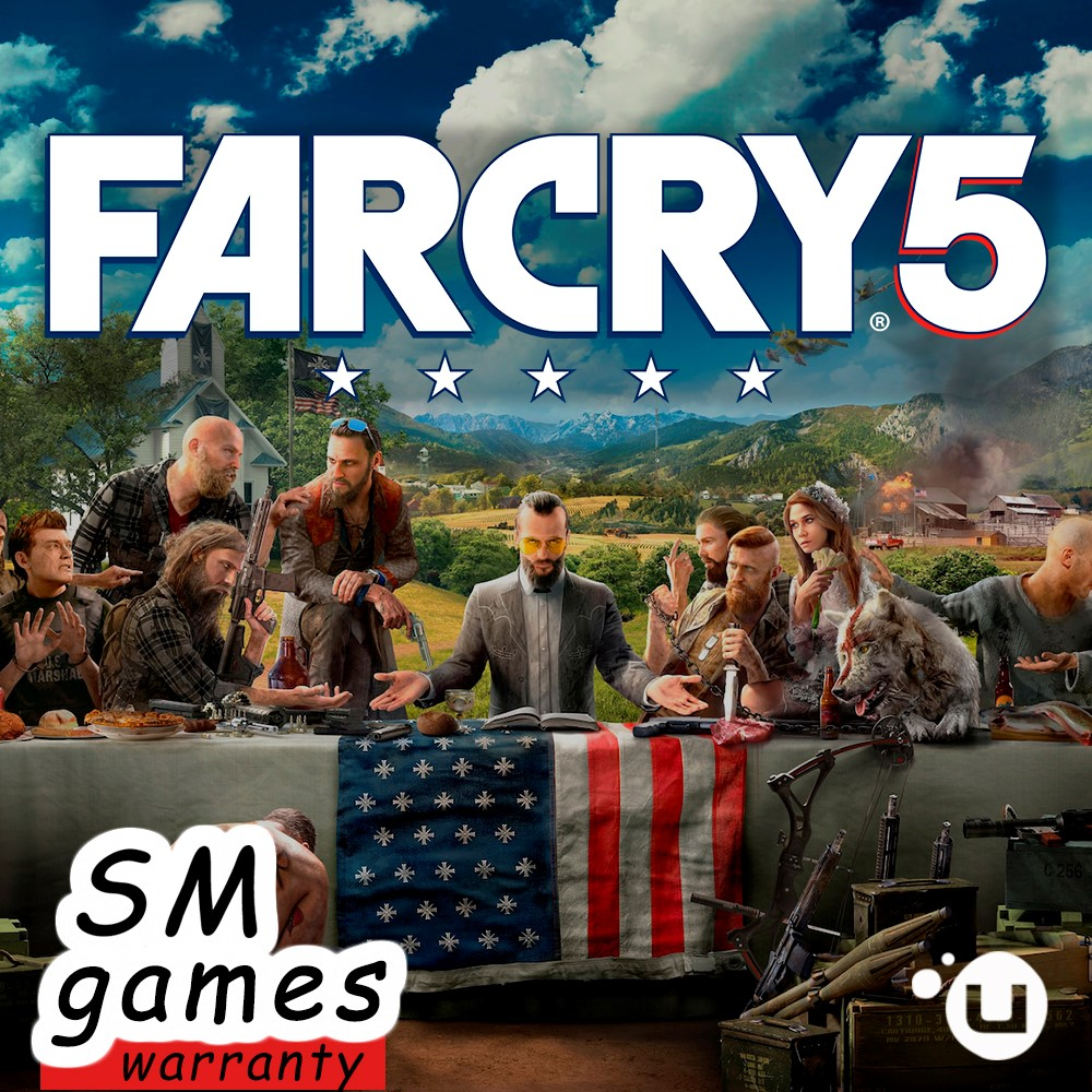FAR CRY 5 | REGION FREE | WARRANTY | UPLAY &#128309