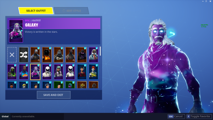 FORTNITE Epic gear GALAXY&#128309