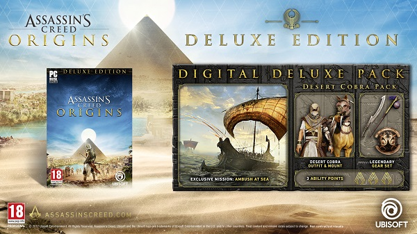 Assassin´s Creed Origins Deluxe Edition (Steam RU CIS)