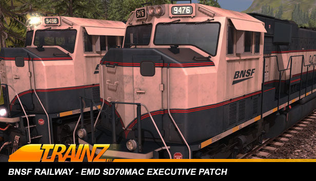 Trainz 2019 DLC: BNSF Railway EMD SD70MAC Executive Patch Steam RU KZ UA CIS