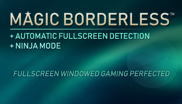 Magic Borderless Steam RU UA CIS