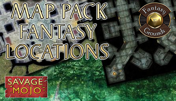 Fantasy Grounds - Map Pack Fantasy Locations (Map Pack) Steam RU UA CIS