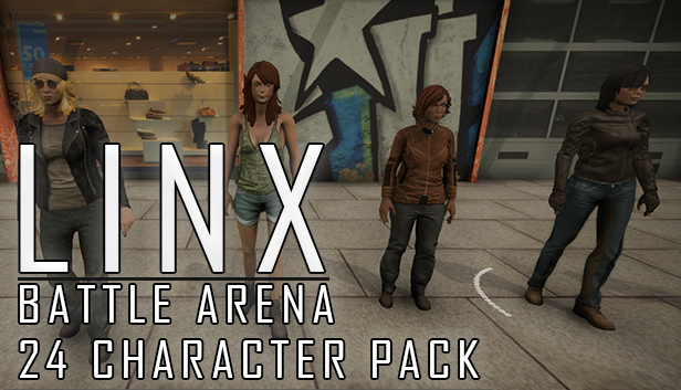 Linx Battle Arena - 24 Character Set! Steam RU UA CIS