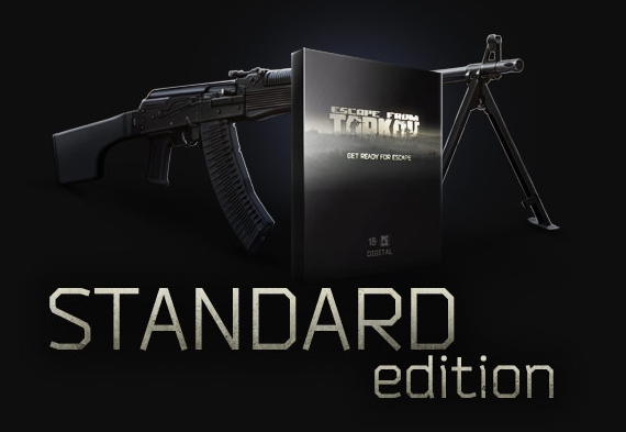 Escape from Tarkov Standard Edition (RU/CIS ONLY)-12.5%