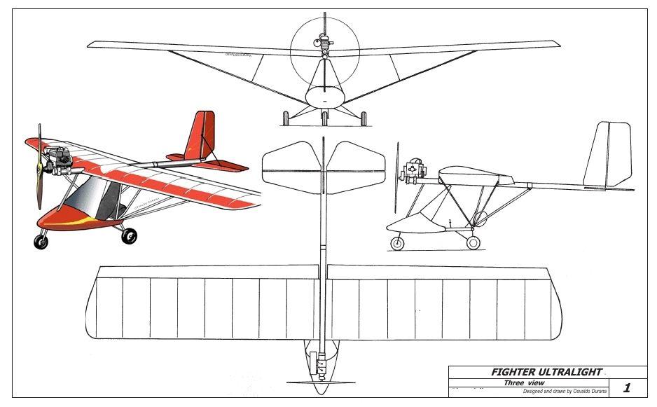 Как самому сделать чертежи самолета