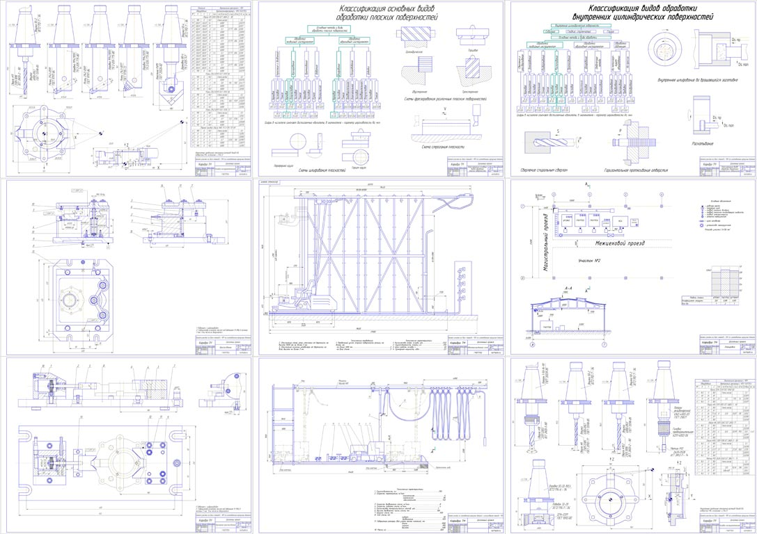 чертежи проекта чпу станка есть три вида